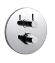 Picture of CLIO Twin Concealed Thermostatic Shower Valve with Diverter