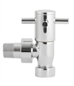 Picture of RADIATOR VALVES Angled Minimalist X-Head Radiator Valve Pack (pairs)