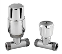 Picture of RADIATOR VALVES Straight Thermostatic Radiator Valve Pack