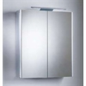 Picture of Pinnacle double mirror glass door cabinet Roper Rhodes