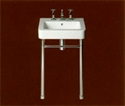 Picture of ROMA Roma 52 basin stand chrome