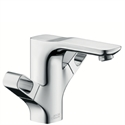 Picture of 2 handle basin mixer for standard basins with waste set