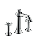 Picture of 3 hole basin mixer with cross head handles