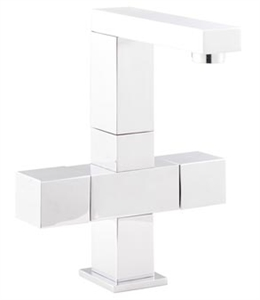 Picture of KUBIX Cruciform Mono Basin Mixer