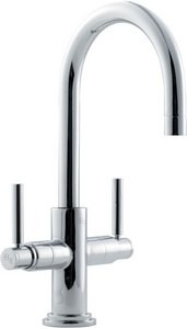 Picture of Tec Cruciform Sink Mixer with levers and large swivel spout