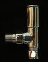 Picture of VALVES Modern style angled radiator valve