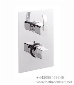 Picture of ARCO Twin Concealed Thermostatic Shower Valve with Built-in Diverter