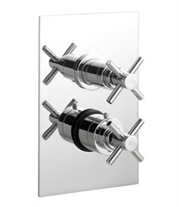 Picture of KRISTAL Twin Concealed Thermostatic Shower Valve with Diverter
