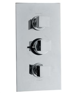 Picture of KUBIX Triple Concealed Thermostatic Shower Valve