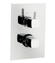 Picture of KIA JULE Twin Concealed Thermostatic Shower Valve with Diverter