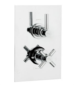 Picture of TEC PURA Pura Twin Concealed Thermostatic Shower Valve