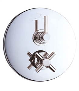 Picture of TEC Twin Concealed Thermostatic Shower Valve