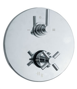 Picture of TEC Twin Concealed Thermostatic Shower Valve with Built-in Diverter