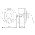 Picture of Manual Shower Valve