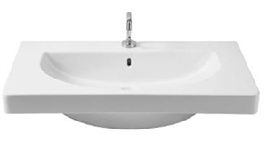 Picture of EL2 rectangular washbasin 1 tap hole