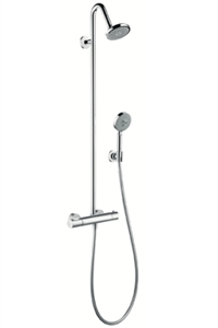 Picture of Showerpipe with thermostatic mixer