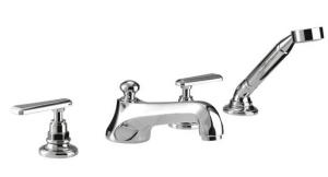 Picture of 4 Hole bath filler kit with handset