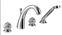 Picture of Imperial Globo 4 Hole Bath Filler Kit