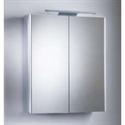 Picture of Pinnacle double mirror glass door cabinet Roper Rhodes