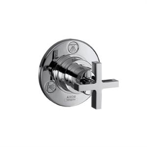Picture of Trio,Quattro diverter valve finish set with cross head handle