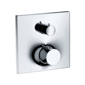 Picture of Thermostatic mixer for concealed installation with shut off and diverter valve