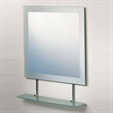 Picture of Eclipse square mirror with shelf Roper Rhodes