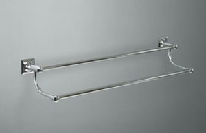Picture of TIMES SQUARE Double Towel Rail