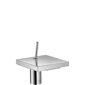 Picture of Single lever basin mixer 100mm for small basins with waste set
