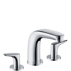 Picture of 3 Hole basin mixer with waste set