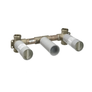 Picture of Basic set for 3 hole wall mixer for concealed installation