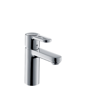 Picture of Single lever basin mixer with 10mm connections for standard basins with waste set