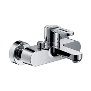 Picture of Single lever bath and shower mixer for exposed installation