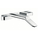 Picture of 3 hole bath mixer wall mounted, with long spout