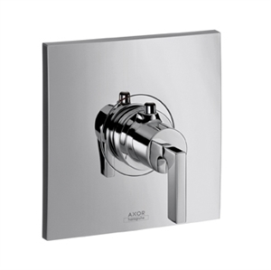 Picture of Thermostatic mixer for concealed installation with lever handle