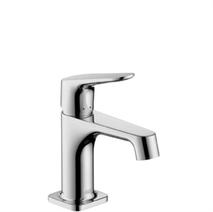 Picture of Single lever basin mixer for small basins with waste set