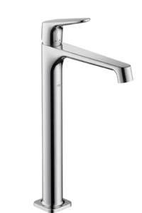 Picture of Single lever highriser basin mixer for wash bowls without waste set