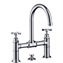 Picture of 2 handle basin mixer with waste set