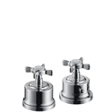 Picture of 2 hole thermostatic rim mounted bath mixer