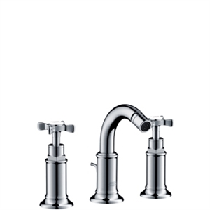 Picture of 3 hole bidet mixer with waste set