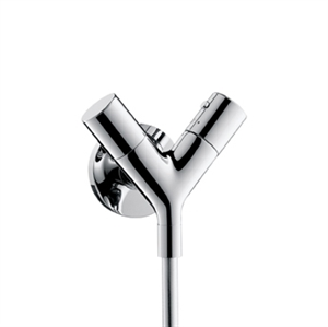 Picture of 2 handle thermostatic shower mixer for exposed fitting