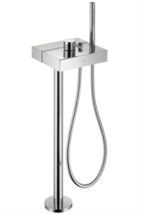 Picture of Floor standing single lever bath and shower mixer