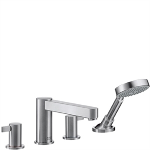 Picture of 4 hole rim mounted bath and shower mixer