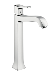 Picture of Single lever highriser basin mixer for wash bowls with waste set