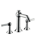 Picture of 3 hole basin mixer with lever handles