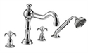 Picture of Imperial Lierre 4 hole bath filler kit