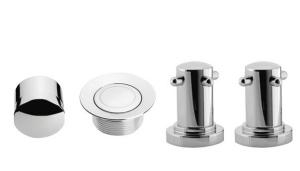 Picture of Imperial Capstone 2 hole bath filler kit