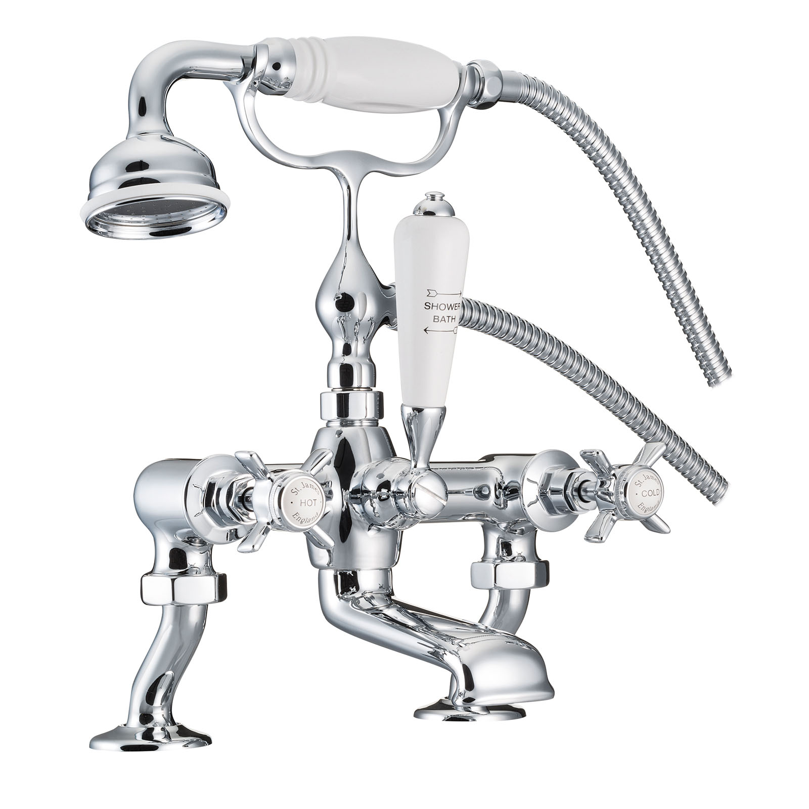 Picture of Bath/Shower Mixer With Cranked Legs