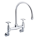 Picture of Wall Mounted Kitchen Bridge Mixer