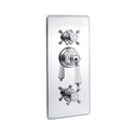 Picture of Concealed Thermostatic Shower Valve With 2 Function Diverter And Flow Valve