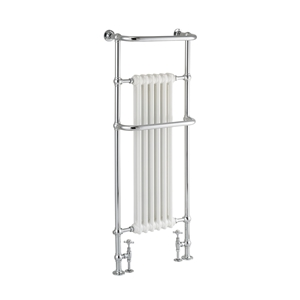 Picture of Tall Towel Rail With Cast Iron Fins